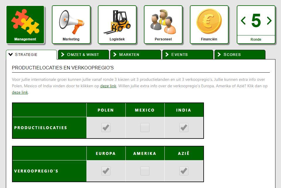 EcoTech MVO Innovatie managementgames thematische management games voor Economie