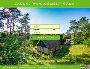 Landal serious games management games hoger onderwijs